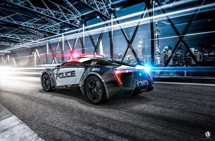 car, Police cars, Lykan hypersport, Need for Speed HD Wallpaper Desktop Background
