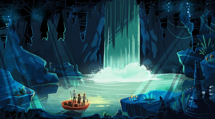 illustration, Fantasy art, Looking into the distance HD Wallpaper Desktop Background