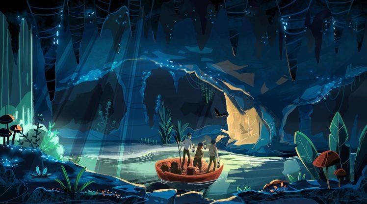 Ice Cave Fantasy Art
