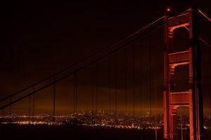 San Francisco, Bridge, Cityscape