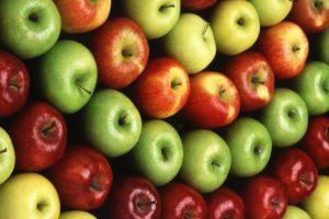 apples, Colorful, Fruit, Symmetry