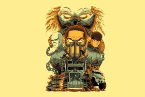 Mad Max, Mad Max: Fury Road, Artwork, Movies