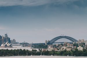 city, Bridge, Water, Sydney Opera House, Sydney, Sydney Harbour Bridge