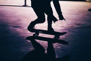 nature, City, Skateboard