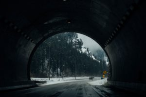 nature, Road, Snow, Trees