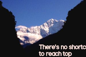 mountains, Quote, Nepal, Nilgiri