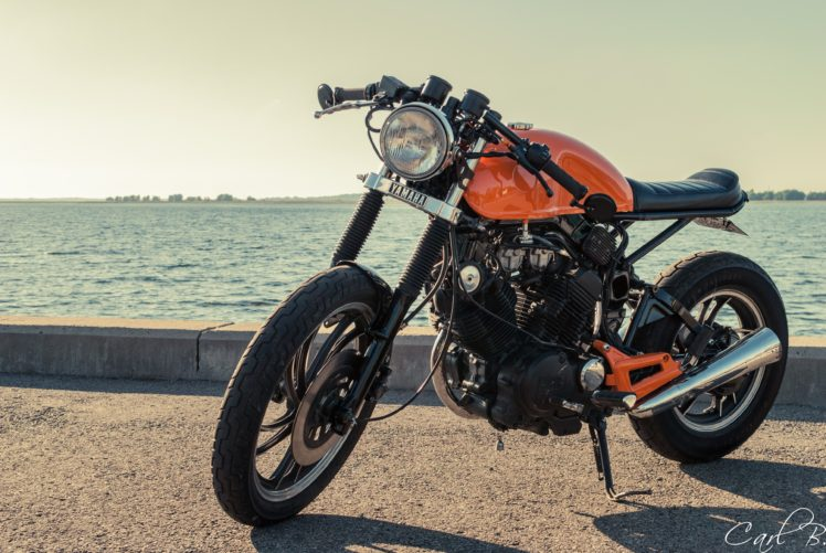 caferacer, Motorcycle, Yamaha, Xv500, Vintage HD Wallpaper Desktop Background