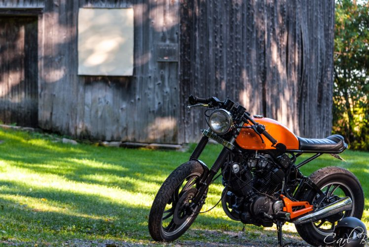 Caferacer Motorcycle Yamaha Xv500 Vintage Hd Wallpapers