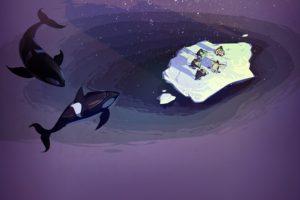 Steam (software), Concept art, Penguins, Orca, Sea, Humor