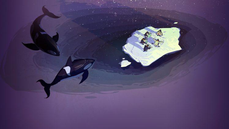 Steam Software Concept Art Penguins Orca Sea Humor Hd