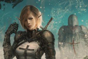 Templar, Warrior, Fantasy art