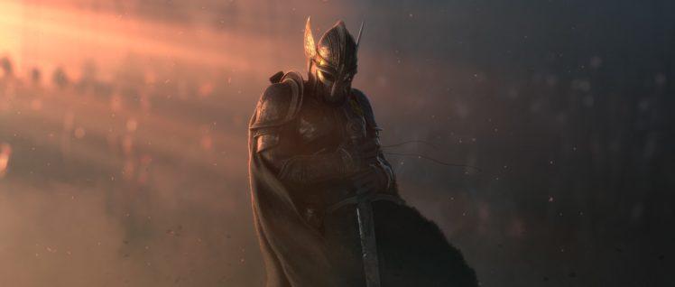 warrior, Robert Craig, Fantasy art, Army HD Wallpaper Desktop Background
