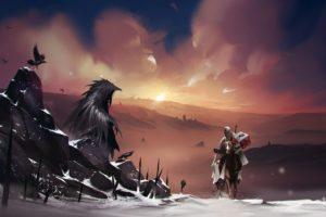 fantasy art, Crow
