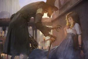fantasy art, Futuristic, Steampunk