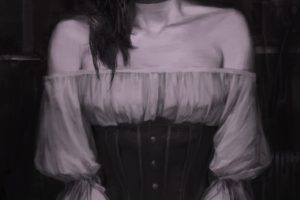 women, Fantasy art, Monochrome