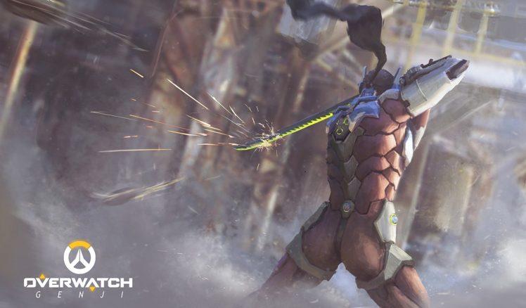 Overwatch, Sword HD Wallpaper Desktop Background