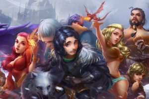 Jon Snow, Fantasy art, Magic, Game of Thrones
