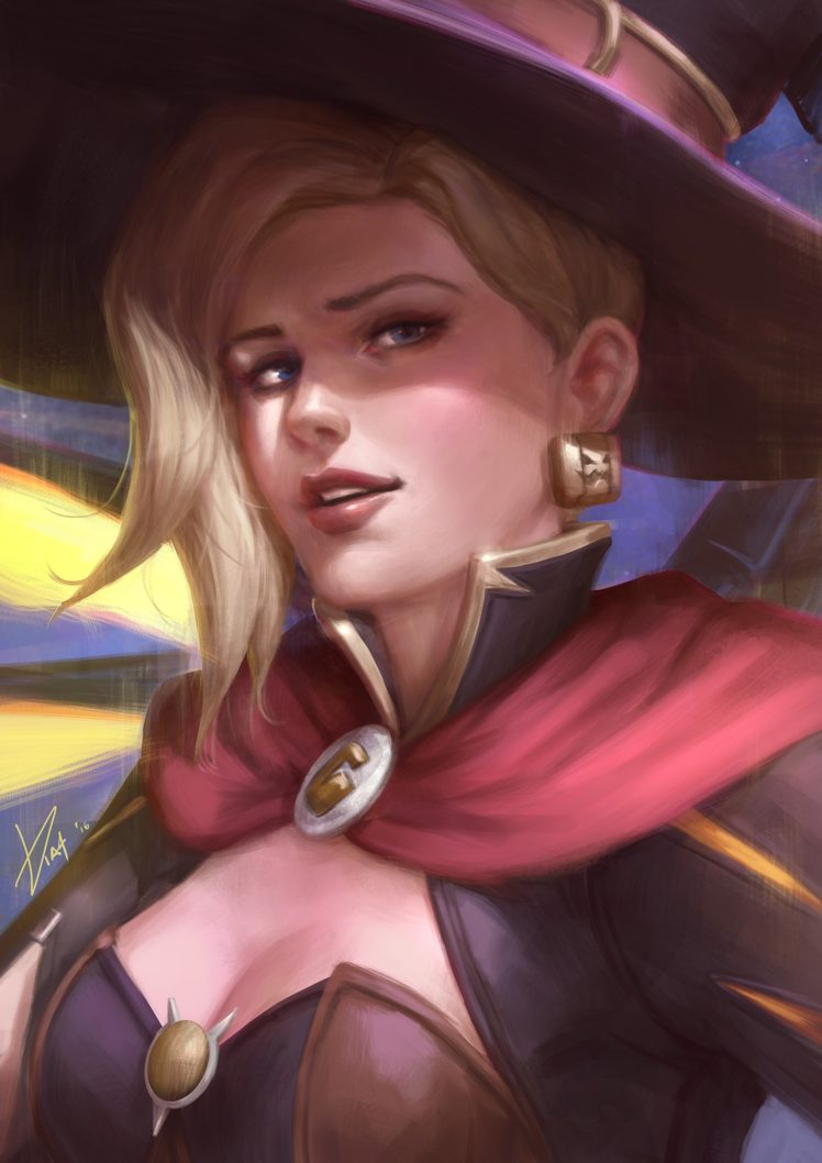 Overwatch Mercy Overwatch Hd Wallpapers Desktop And Mobile Images Photos