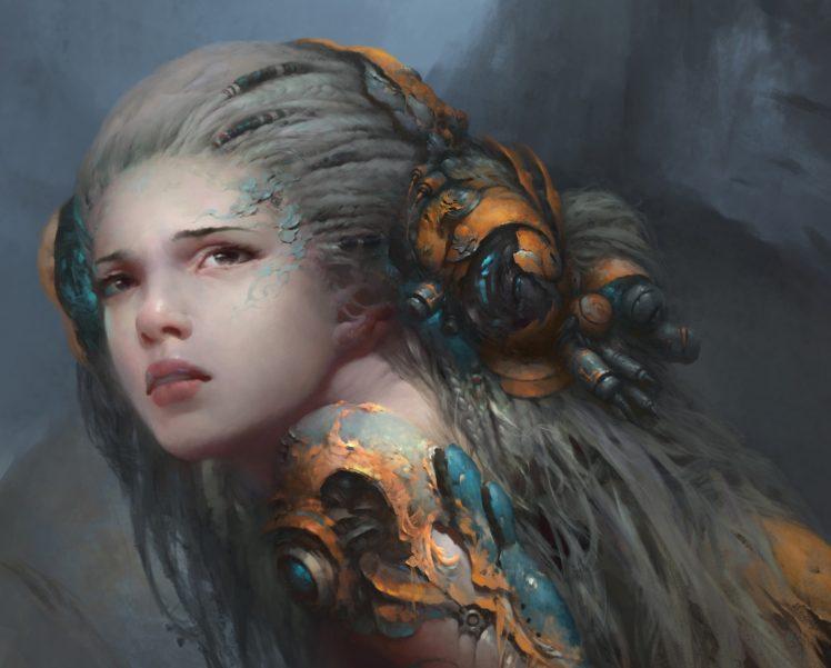 face, Magic, Fantasy art, Fantasy girl HD Wallpaper Desktop Background