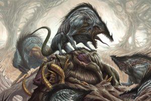 death, Creature, Fantasy art