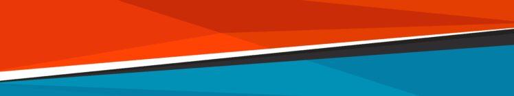 blue, Orange, Abstract HD Wallpaper Desktop Background