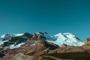 mountains, Snow, ElementaryOS