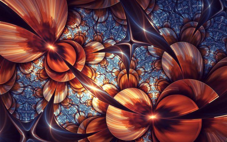 fractal, Abstract, Digital art, Artwork HD Wallpaper Desktop Background