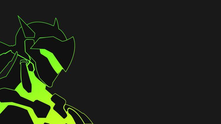 Genji (Overwatch), Video games HD Wallpaper Desktop Background