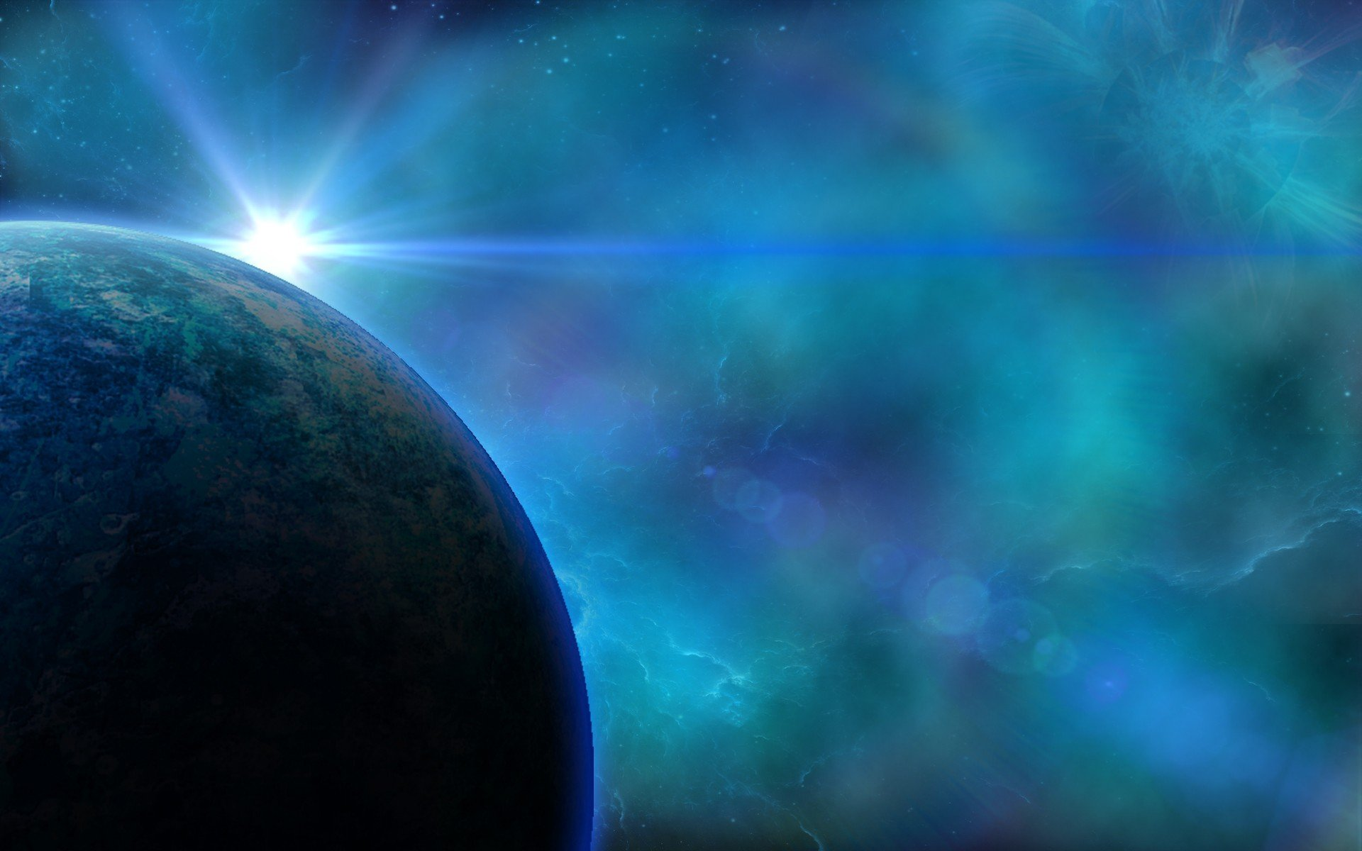 space, Lens flare HD Wallpapers / Desktop and Mobile ...