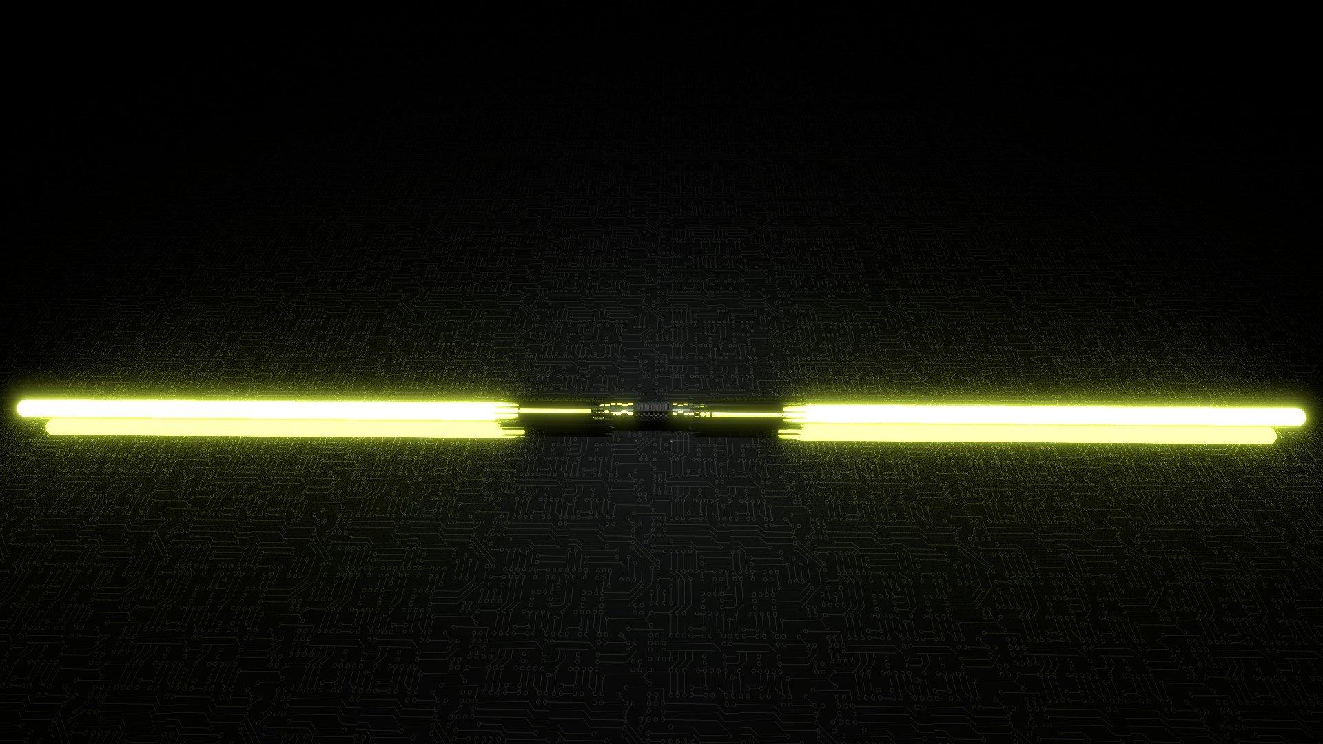 Star Wars Rey S Blue Lightsaber Vs Kylo Ren S Red Lightsaber Hd