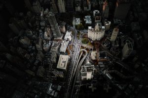 Manhattan, New York City, Aerial view, Cityscape, USA