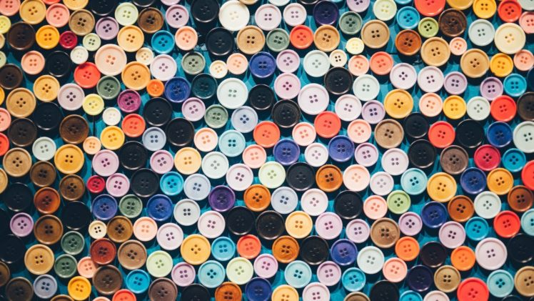 colorful, Buttons HD Wallpaper Desktop Background