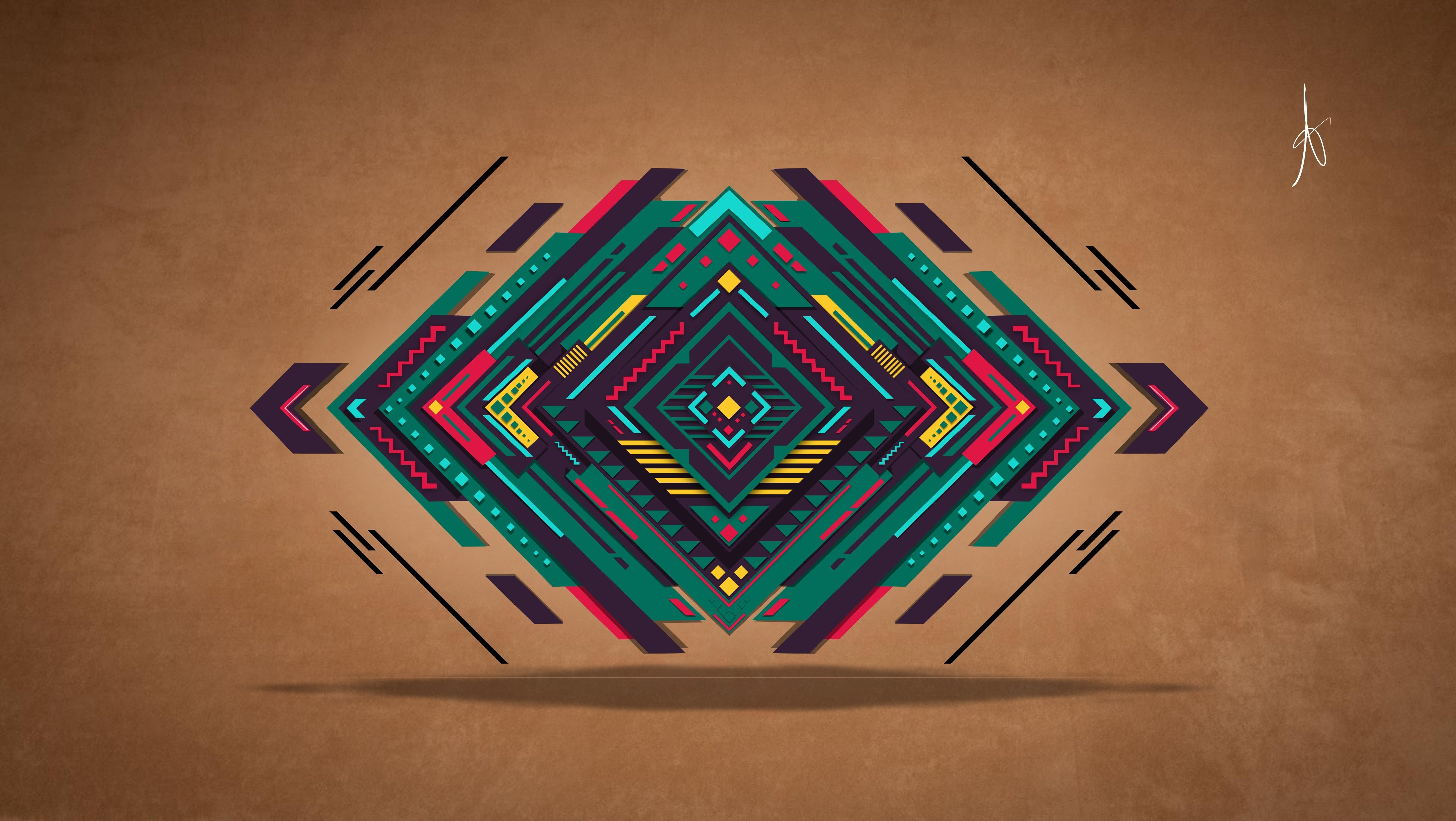 abstract wall graphic design abstract digital vector triangle colorful graphic 813