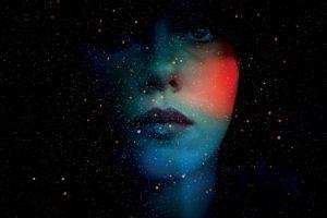 Scarlett Johansson, Abstract, Double exposure, Under the Skin