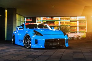 Nissan, Nissan 370Z, Car, Vehicle, Blue cars