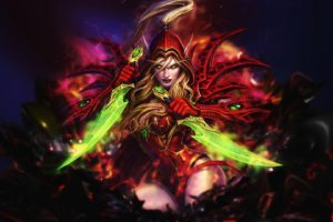 Valeera Sanguinar, World of Warcraft, Artwork