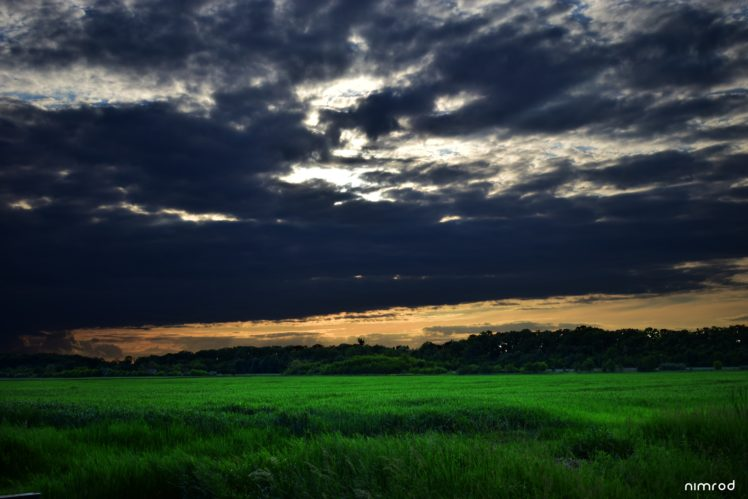 landscape, Nature, Sky, Clouds HD Wallpaper Desktop Background