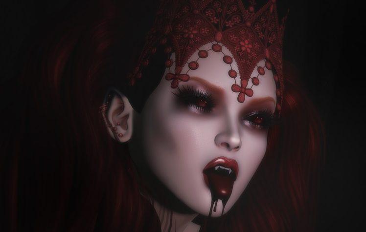 Fantasy Art Vampires Wallpapers Hd Desktop And Mobile: Vampires, Fantasy Art, Fantasy Girl HD Wallpapers