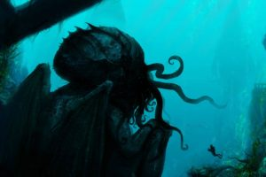 divers, Cthulhu, Fantasy art, Creature