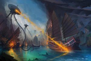 illustration, Fantasy art, Artwork