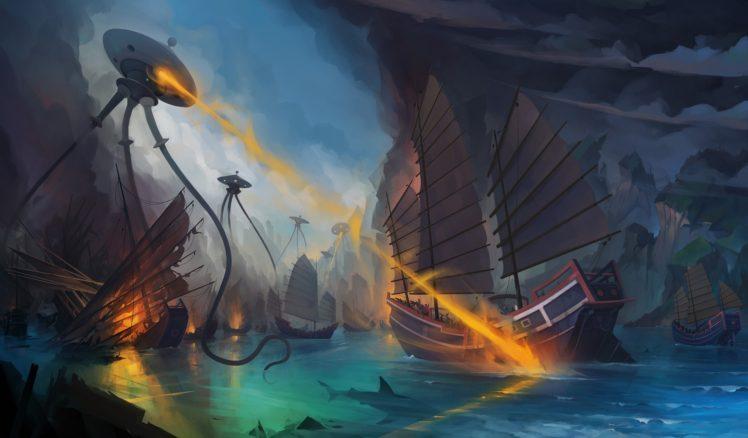 illustration, Fantasy art, Artwork HD Wallpaper Desktop Background