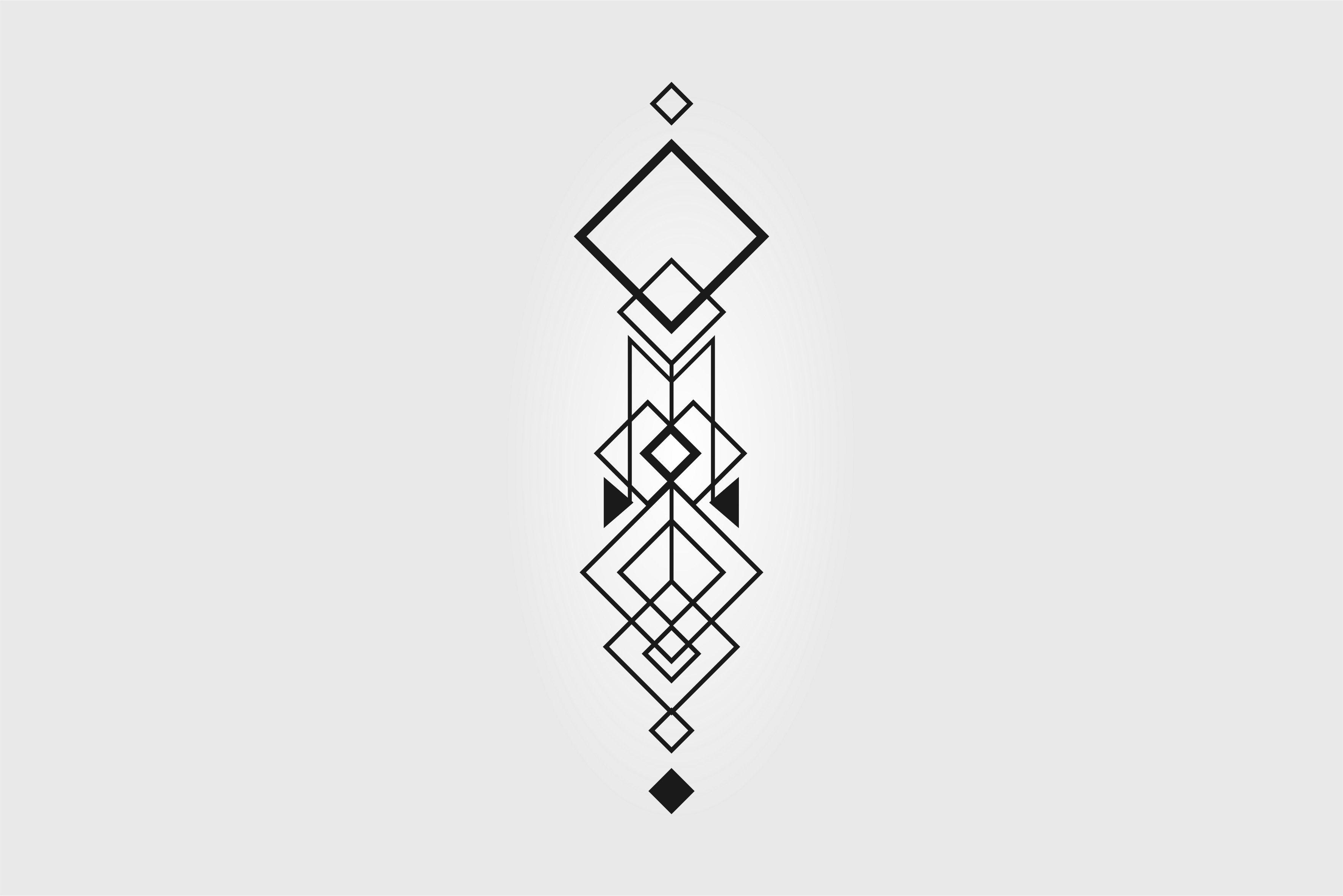 Minimalism Pattern Abstract Lines Geometry Wallpapers: Vector, Abstract, Minimalism, Geometry, Tattoo HD