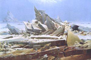 painting, Landscape, Caspar David  Friedrich
