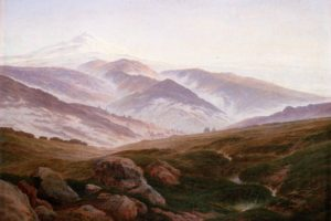 landscape, Painting, Caspar David  Friedrich