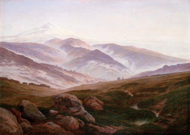 landscape, Painting, Caspar David Friedrich HD Wallpaper Desktop Background
