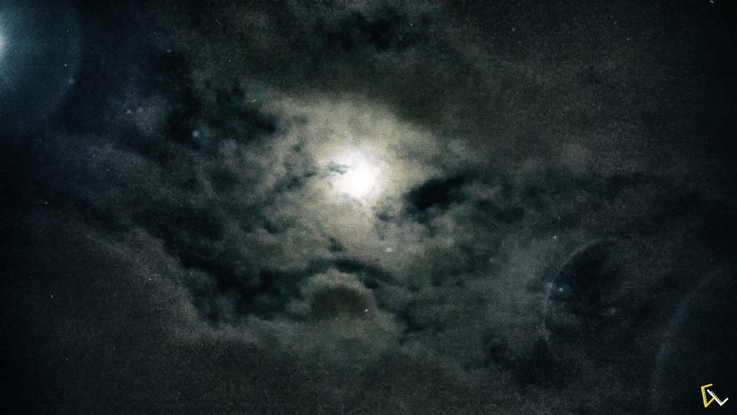 Moon, Night, Sky Wallpaper