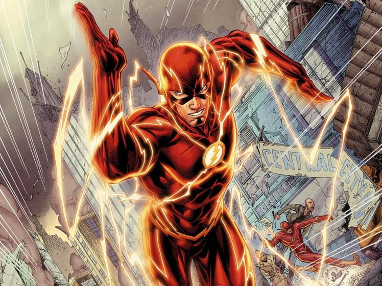 Flash Superhero Dc Comics Hd Wallpapers Desktop And