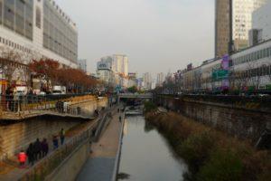 Chunggyechun, Seoul, South Korea, Republic of Korea, Canal
