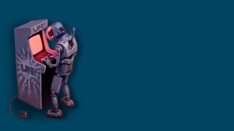 Robot Arcade Video Games Hd Wallpapers Desktop And Mobile Images