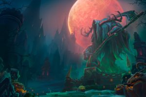 heroes of the storm, Towers of doom, Halloween, Dark, Video games